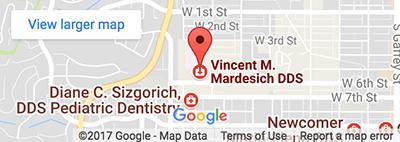 Map - Vincent Mardesich DDS